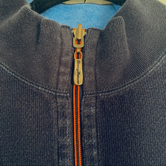 Tommy Bahama Other - Tommy Bahama Reversible 1/4 Zip Sweater